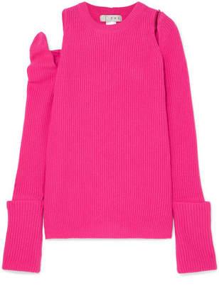 TRE - Cutout Cashmere Sweater - Fuchsia