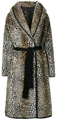 Philosophy di Lorenzo Serafini faux fur leopard print coat
