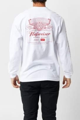 HUF x Budweiser Pit Crew Longsleeve T-Shirt