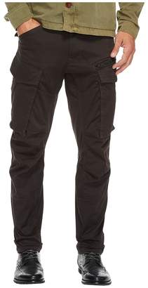 G Star G-Star Rovic Zip 3D Tapered Fit Pants in Premium Micro Stretch Twill Raven Men's Clothing