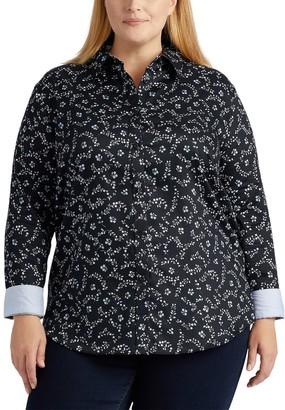 Chaps Plus Size Button-Down Woven Shirt