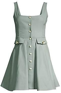 Alexis Women's Nena Button-Front A-Line Dress