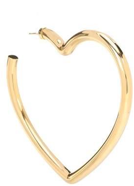 Balenciaga Heart-shaped single earring