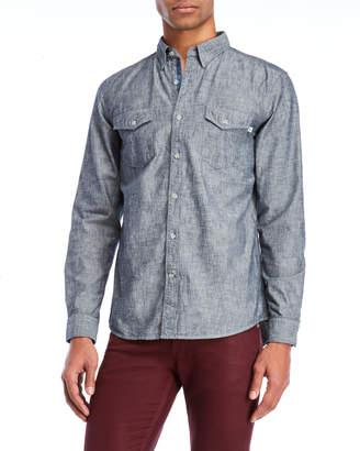 Timberland Two-Pocket Chambray Shirt