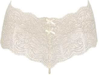 Bracli Embellished Lace Culottes