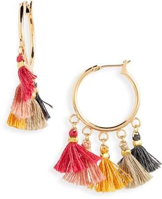 Shashi Sashi Lilu Hoop Earrings