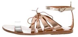 Ancient Greek Sandals Iphigenia Metallic Sandals