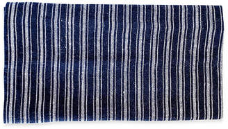 Caravan Set of 4 Copland Dinner Napkins - Indigo/White