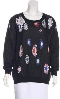 Rachel Comey Floral Knit Sweater
