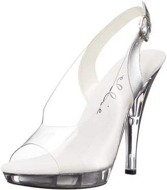 Ellie Shoes Women's 521-Spring-w Heeled Sandal