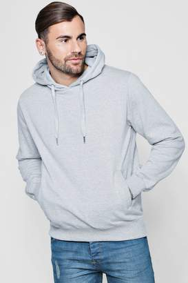 boohoo Over The Head Hoodie With Side Pockets