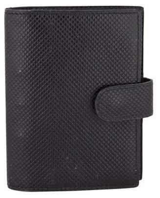 Bottega Veneta Bound Leather Address Book