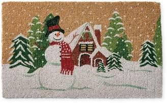 Williams-Sonoma Snowman Doormat
