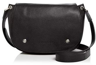 Longchamp Le Foulonne Leather Saddle Bag