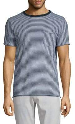 AG Jeans Striped Cotton Tee