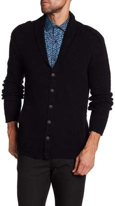 John Varvatos Collection Shawl Collar Cardigan