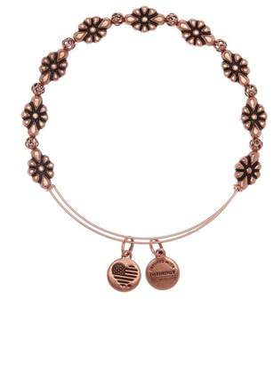Alex and Ani Blossom Beaded Expandable Wire Bracelet