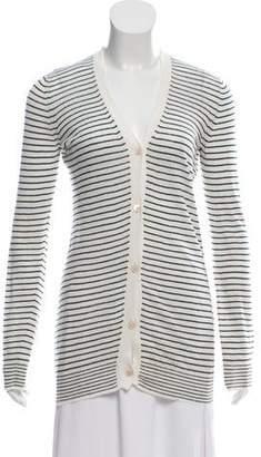 Max Mara 'S Long Sleeve Button-Up Cardigan