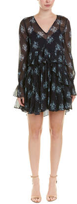 Cinq à Sept Farris Silk A-Line Dress