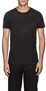 Tomas Maier MEN'S COTTON JERSEY T-SHIRT - BLACK SIZE S