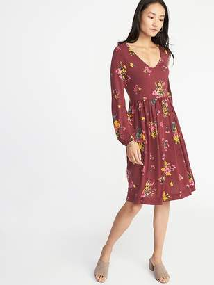 Old Navy Fit & Flare Jersey Dress for Women
