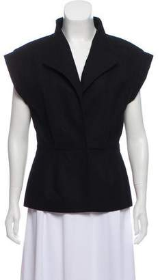 Monika Chiang Pointed Collar Vest