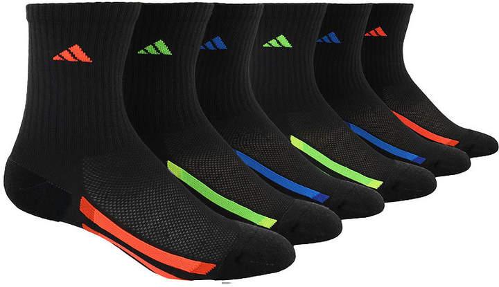 6Pk Crew Socks Boys