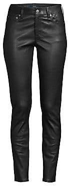 Polo Ralph Lauren Women's Skinny Leather Leggings
