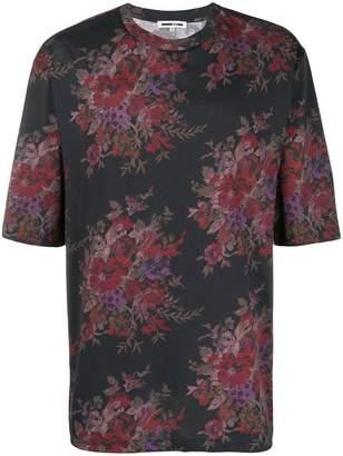 McQ (マックキュー) - McQ Alexander McQueen floral-print T-shirt