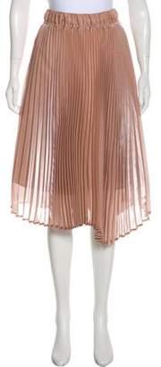 Clu Pleated Knee-Length Skirt w/ Tags