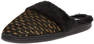Gold Toe Women's Glitter Mule