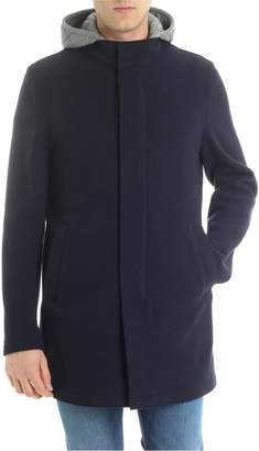 Herno Hooded Straight Fit Jacket