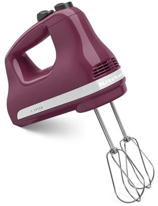 KitchenAid Boysenberry 5-Speed Hand Mixer