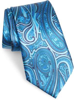 Ermenegildo Zegna Ermengildo Paisley Silk Tie