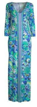 Lilly Pulitzer Anissa Printed Cotton Maxi Dress
