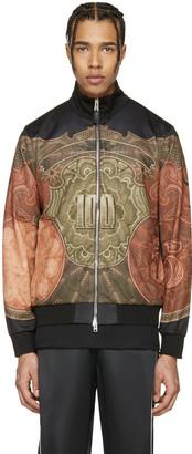 Givenchy Black Money Track Jacket $1,850 thestylecure.com