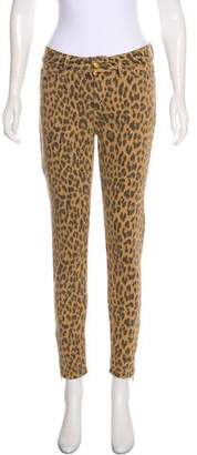 By Malene Birger Mid-Rise Skinny Pants