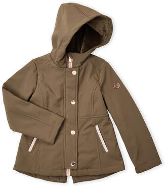 Michael Kors Girls 4-6x) Softshell Hooded Anorak