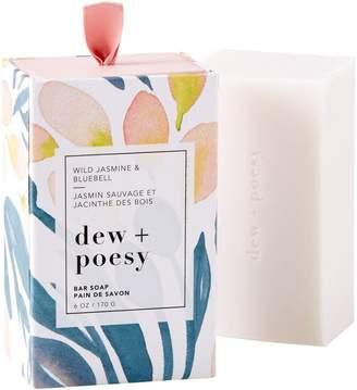 Dew + Poesy Dew and Poesy Bar Soap Wild Jasmine & Bluebell