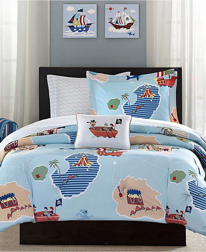 Mi Zone Kids Ahoy Matey 8-Pc. Reversible Full Comforter Set Bedding