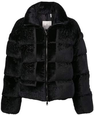 Moncler floral puffer jacket