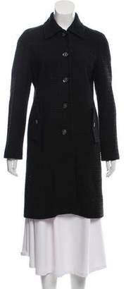 Tory Burch Wool-Blend Knee-Length Coat