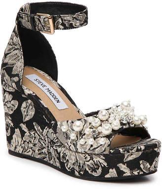 Steve Madden Jessenia Wedge Sandal - Women's