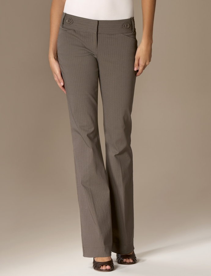 The Limited Exact Stretch Classic Flare Pant