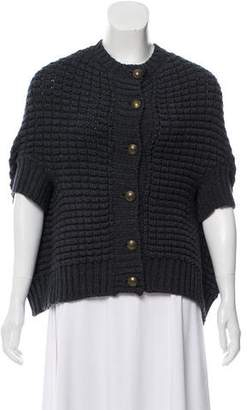 See by Chloe Wool Knit Cape