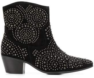 The Seller studded ankle boots
