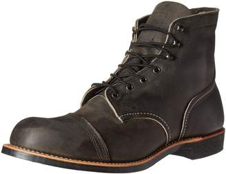 Red Wing Shoes Men's Iron Ranger Work Boot, Copper Rough Tough