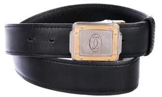 Cartier Interlocking C Leather Belt