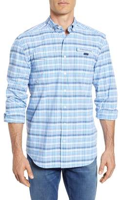 Vineyard Vines Prospect Hill Harbor Regular Fit Plaid Performance Sport Shirt