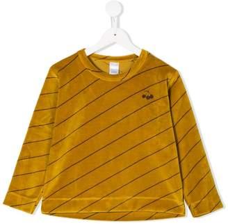 Tiny Cottons diagonal stripe longsleeved T-shirt